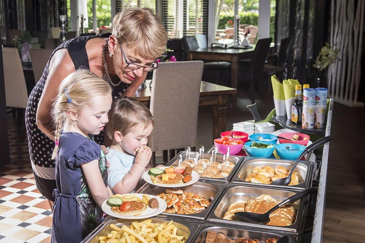Buffet in Restaurant de Stamboom