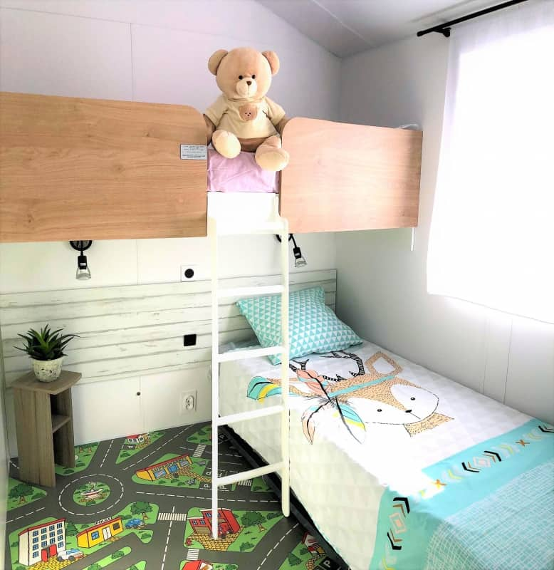 Capfun Lodge Bizouquet slaapkamer kids