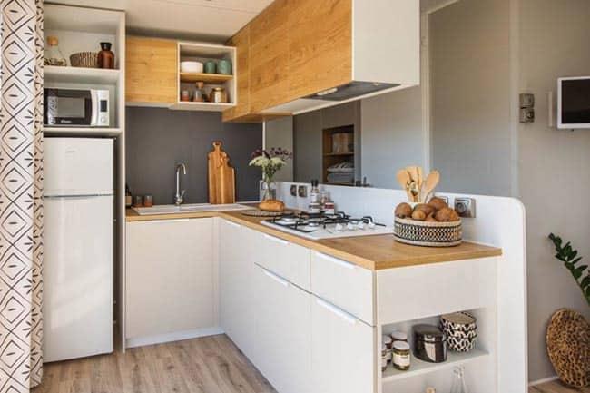 Capfun Lodge Jasmijn 6 persoons keuken