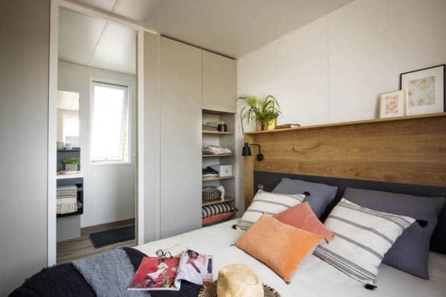 Capfun Lodge Jasmijn 6 persoons slaapkamer