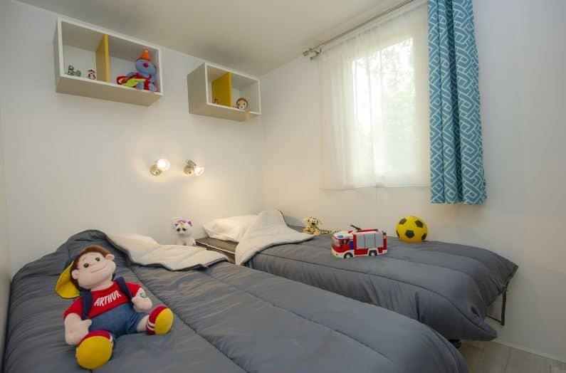 Lodge Kim slaapkamer