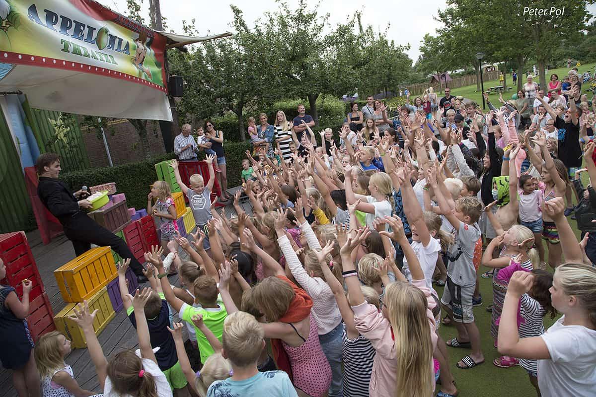 Optreden met kinderen