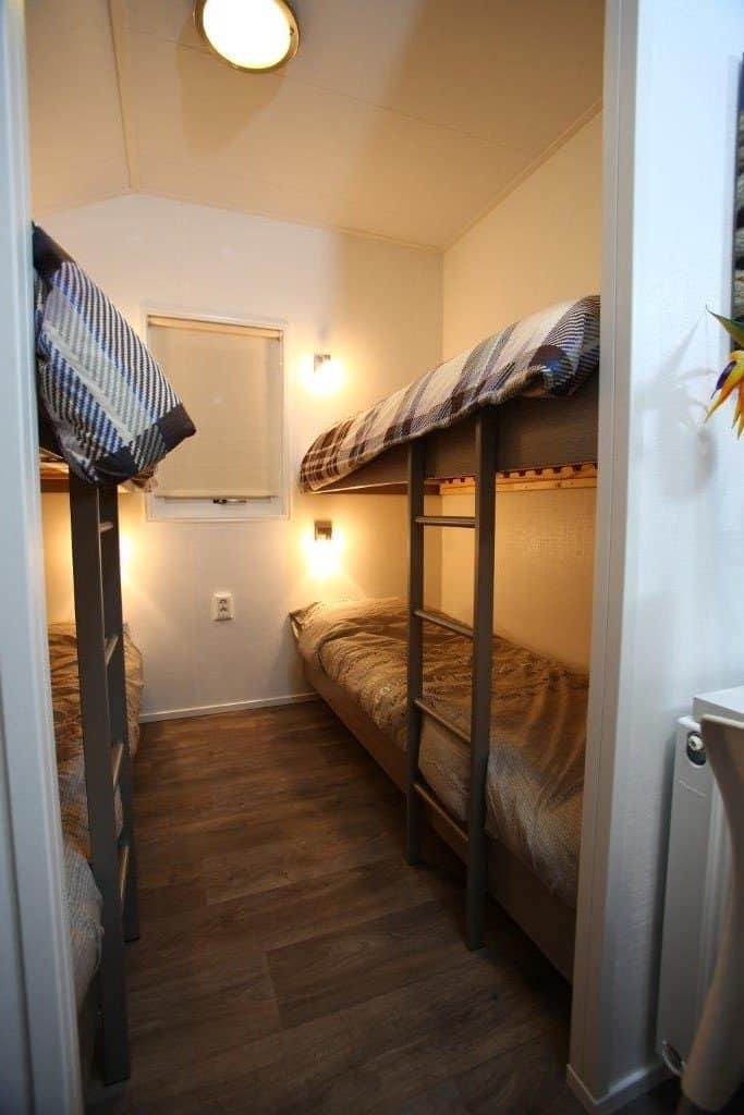 Slaapkamer vierpersoons studio
