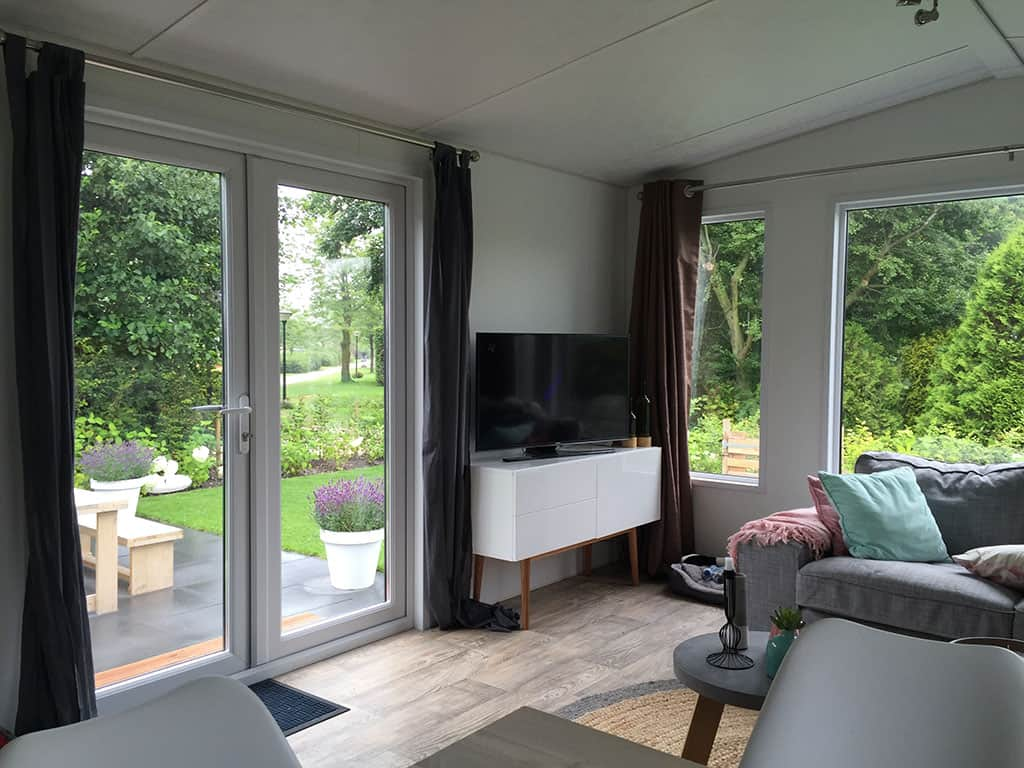 XL Luxe Lodge woonkamer