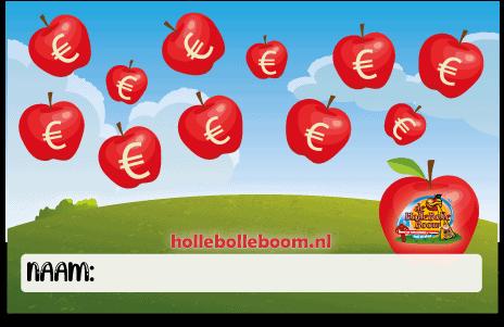 Geldboompje cheque