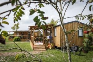 Capfun Lodge Jasmijn 6 persoons woonkamer